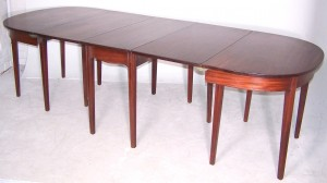 George III Extending Dining Table