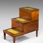 Regency Library Step Commode image 1