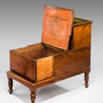 Regency Library Step Commode