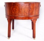 Mahogany wine cooler