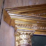 Antique,Large Gilded Mirror
