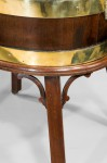 George III Gillows mahogany wine cooler/cistern image 2