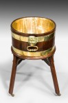 George III Gillows mahogany wine cooler/cistern image 4