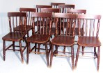 A Set of Ten Thames Valley Chairs