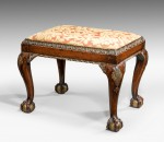Queen Anne style Stool image 1