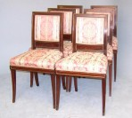 Set of six chairs ~ SOLD