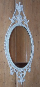 Antique, George III Carton Pierre Mirror