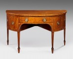 George III demi-lune Sideboard ~ SOLD