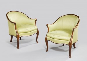 Pair Tub chairs