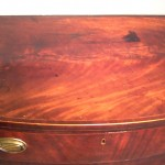 George III Bowfronted Chest