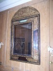 Italian Gilt Metal Mirror