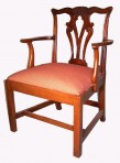Mahogany Carver desk chair