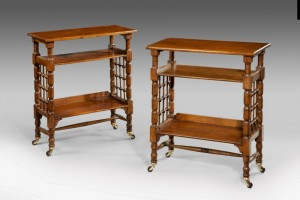 A Pair of Liberty bookcases