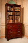 George III Secretaire Bookcase ~ SOLD