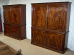 Pair of George IV Bookcases