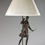 Diana figure table lamp image 1