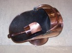 Helmet coal scuttle ~ SOLD