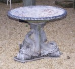 Lead dolphin fountain ~ SOLD