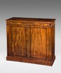Regency two door cupboard