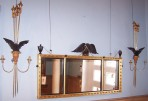 Regency Mirror with pair of matching girandole ~ SOLD