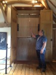 Oak Wardrobe/Cupboard from Liberty's store, London