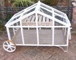 Victorian Style Mobile Greenhouse