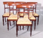 Six William IV Dining Chairs
