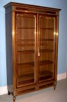 French Glazed Cabinet/Bibliothèque ~ SOLD