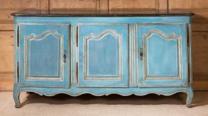 Antique,Painted Enfilade/Buffet