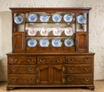 Antique, George II Dresser with Rack image 1