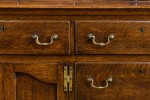 Antique, George III Dresser with Rack