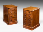 Pair of Small Chests of Drawers ~ SOLD