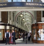A Pair of Lanterns from the Burlington Arcade