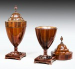 Antique,George III Pair of Knife Urns image 2