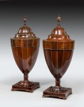 Antique,George III Pair of Knife Urns image 1