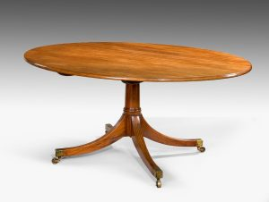 George III Oval Breakfast/Dining Table