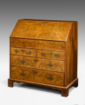 Antique, Walnut Bureau image 1