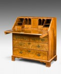 Antique, Walnut Bureau image 2