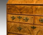 Antique, Walnut Bureau image 4