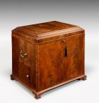 Monumental,George III Box Cellarette ~ SOLD