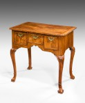 Queen Anne Walnut Lowboy image 1