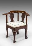 Early 18th Century Corner Chair image 1
