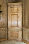 Pair of Pine Corner Cupboards