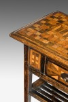 Small Parquetry Table image 2