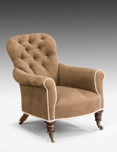 William IV Upholstered Armchair