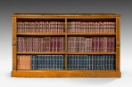 Oak Open Bookcase ~ SOLD