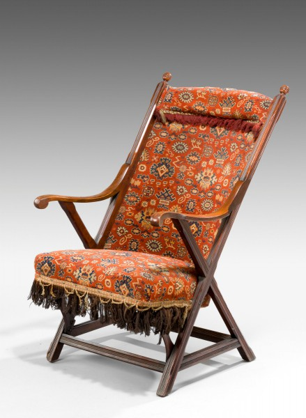 Antique, Steamer Deck Chair - Antique, Steamer Deck Chair - Summers Davis Antiques & Interiors
