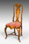 18th Century Dutch Marquetry Chair ~ SOLD
