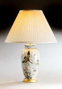 Japanese Vase, now a lamp