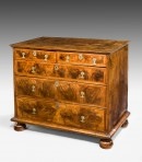 William & Mary Walnut Chest ~ SOLD